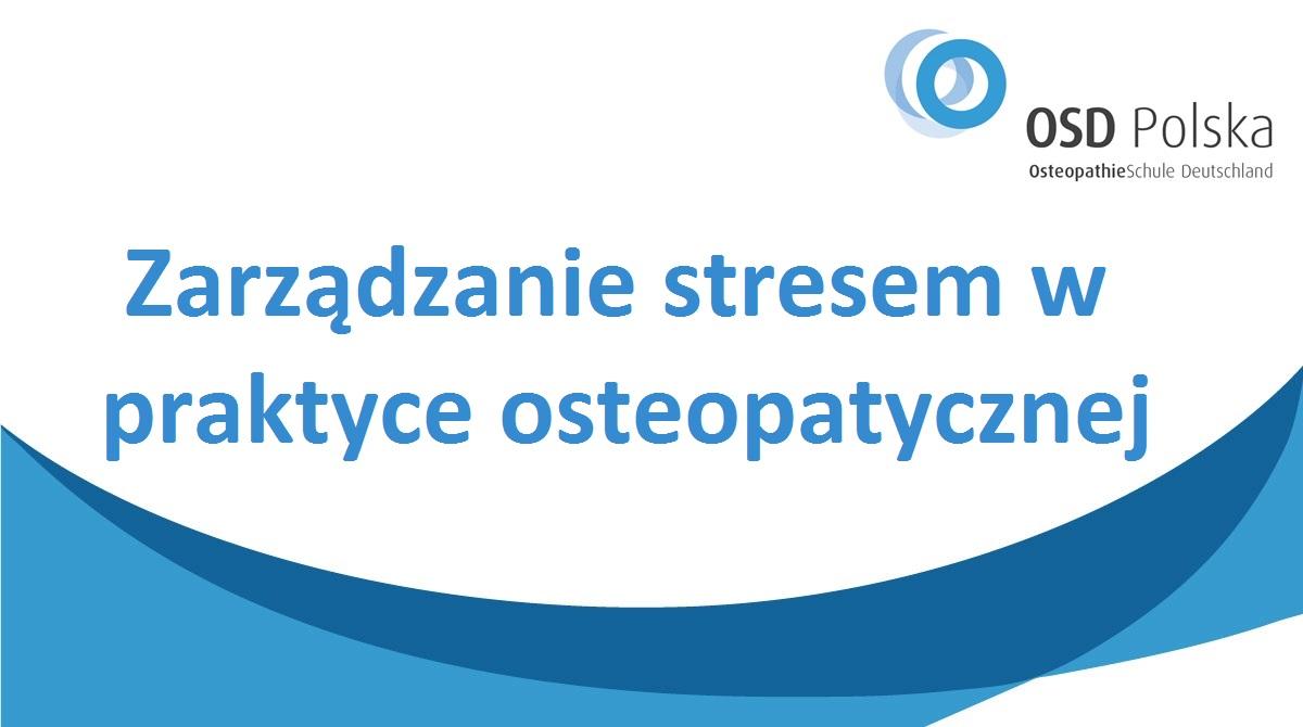 PL_Zarządzanie stresem w praktyce osteopatycznej
